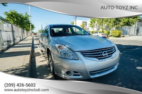 2012 Nissan Altima for sale at Auto Toyz Inc in Lodi CA