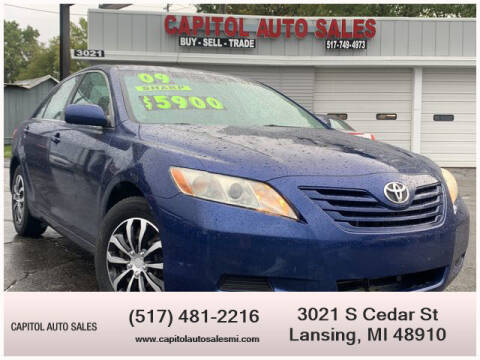 2009 Toyota Camry for sale at Capitol Auto Sales in Lansing MI