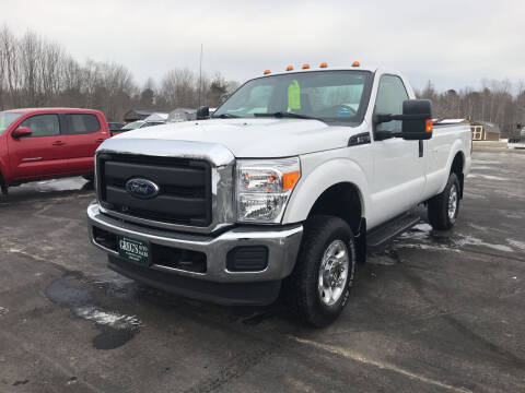 2016 Ford F-250 Super Duty for sale at Greg's Auto Sales in Searsport ME