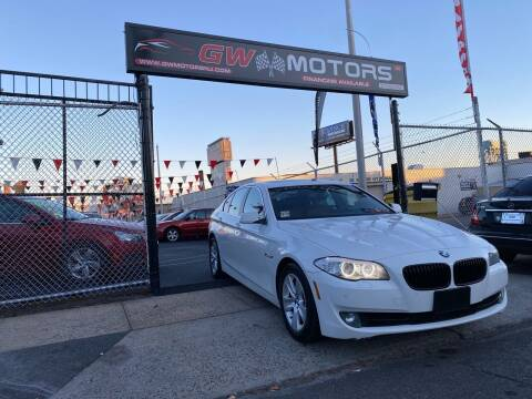 2013 BMW 5 Series for sale at GW MOTORS in Newark NJ