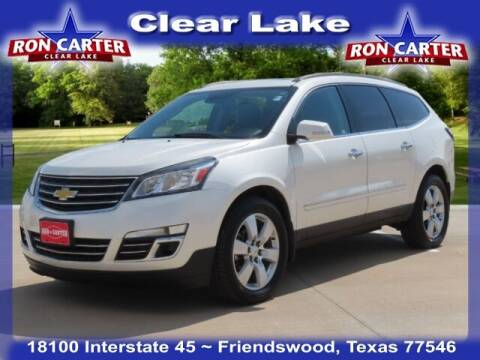 2014 Chevrolet Traverse for sale at Ron Carter  Clear Lake Used Cars in Houston TX