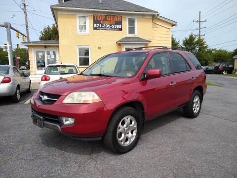 2002 Acura MDX for sale at Top Gear Motors in Winchester VA