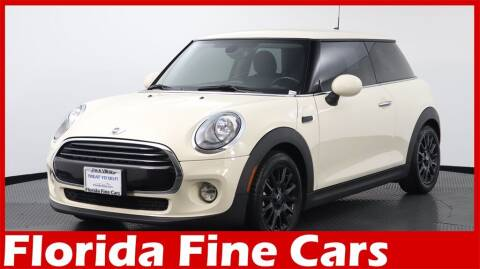 2018 MINI Hardtop 2 Door for sale at Florida Fine Cars - West Palm Beach in West Palm Beach FL