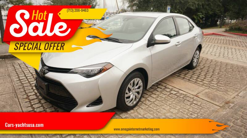 2017 Toyota Corolla for sale at Cars-yachtsusa.com in League City TX