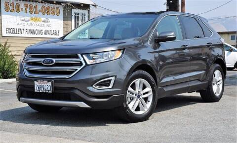 2017 Ford Edge for sale at AMC Auto Sales, Inc. in Fremont CA
