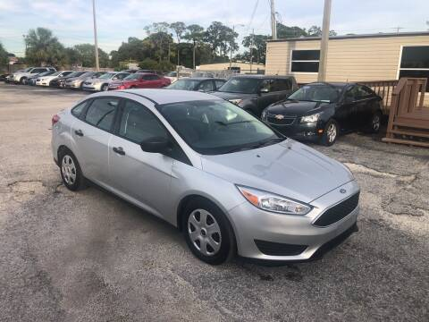 2016 Ford Focus for sale at Friendly Finance Auto Sales in Port Richey FL