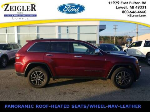 2020 Jeep Grand Cherokee for sale at Zeigler Ford of Plainwell- michael davis in Plainwell MI