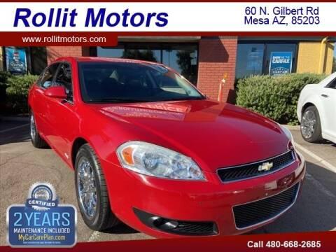 2008 Chevrolet Impala for sale at Rollit Motors in Mesa AZ