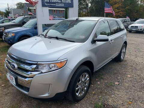 2013 Ford Edge for sale at Winner's Circle Auto Sales in Tilton NH