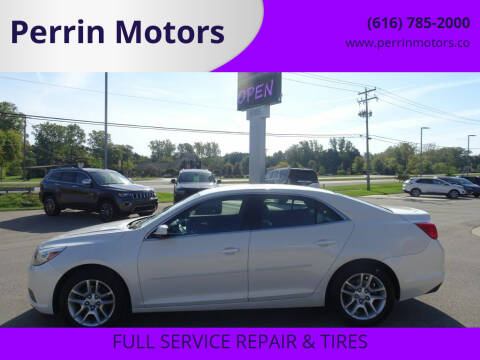 2013 Chevrolet Malibu for sale at Perrin Motors in Comstock Park MI
