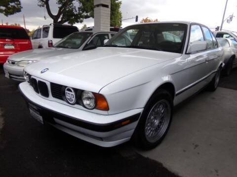 1992 BMW 5 Series for sale at Phantom Motors in Livermore CA