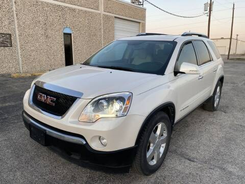 2008 GMC Acadia for sale at Evolution Motors LLC in Dallas TX