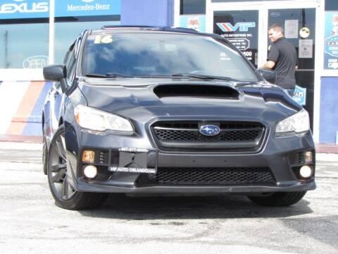 2016 Subaru WRX for sale at VIP AUTO ENTERPRISE INC. in Orlando FL