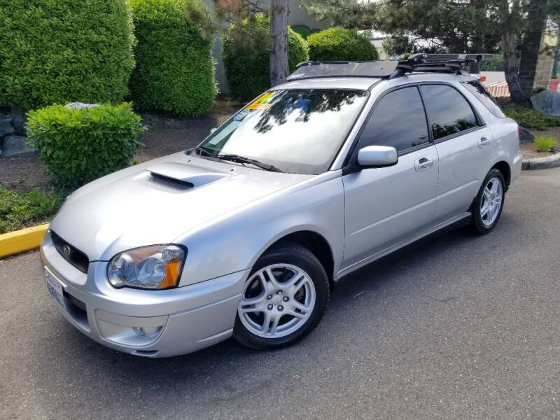 2004 Subaru Impreza for sale at SS MOTORS LLC in Edmonds WA