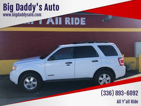 2008 Ford Escape for sale at Big Daddy's Auto in Winston-Salem NC
