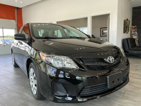 2012 Toyota Corolla for sale at Evolution Autos in Whiteland IN
