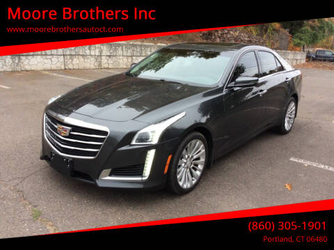 2016 Cadillac CTS for sale at Moore Brothers Inc in Portland CT