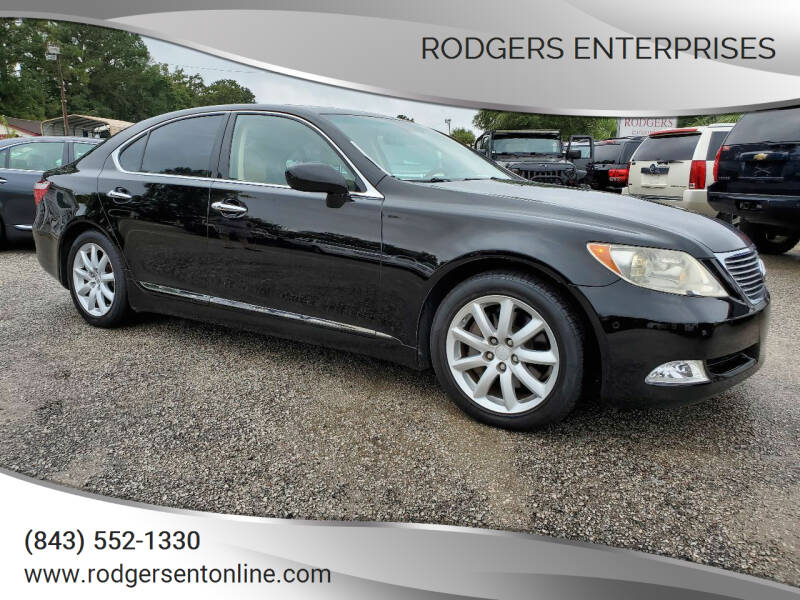 2007 Lexus LS 460 for sale at Rodgers Enterprises in North Charleston SC