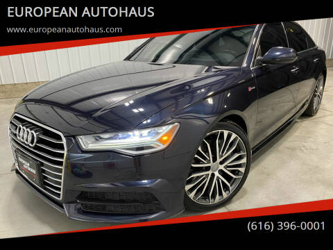2017 Audi A6 for sale at EUROPEAN AUTOHAUS in Holland MI