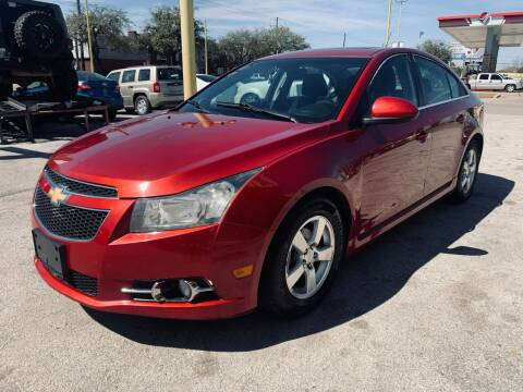 2013 Chevrolet Cruze for sale at Friendly Auto Sales in Pasadena TX