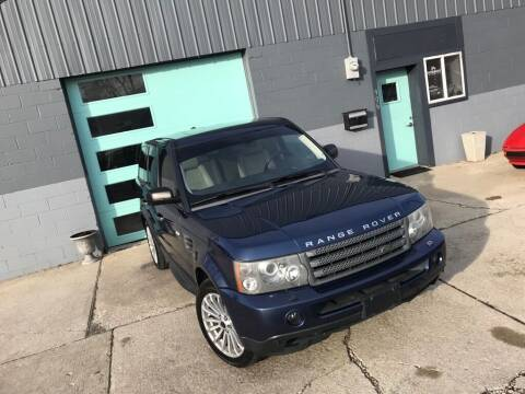 2009 Land Rover Range Rover Sport for sale at Enthusiast Autohaus in Sheridan IN
