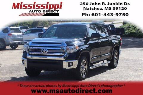 2016 Toyota Tundra for sale at Auto Group South - Mississippi Auto Direct in Natchez MS