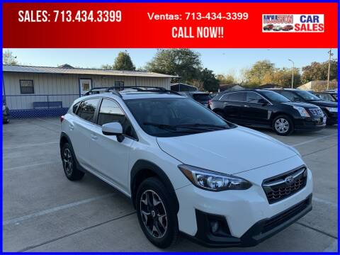 2018 Subaru Crosstrek for sale at HOUSTON CAR SALES INC in Houston TX