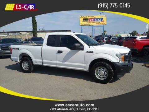 2018 Ford F-150 for sale at Escar Auto in El Paso TX
