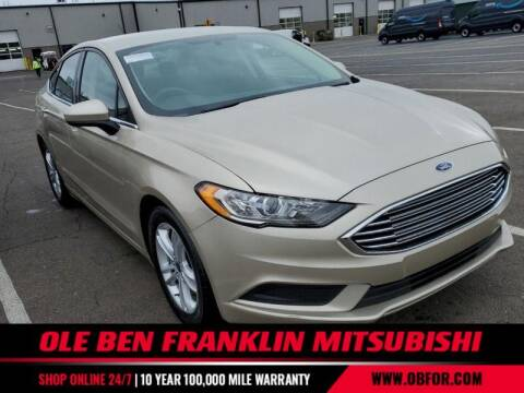 2018 Ford Fusion for sale at Ole Ben Franklin Mitsbishi in Oak Ridge TN