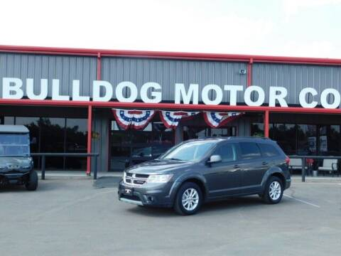 2016 Dodge Journey for sale at Bulldog Motor Company in Borger TX