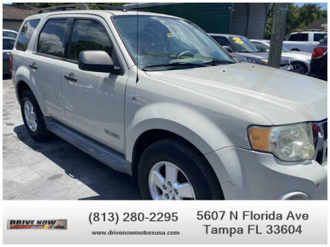 2008 Ford Escape for sale at Drive Now Motors USA in Tampa FL