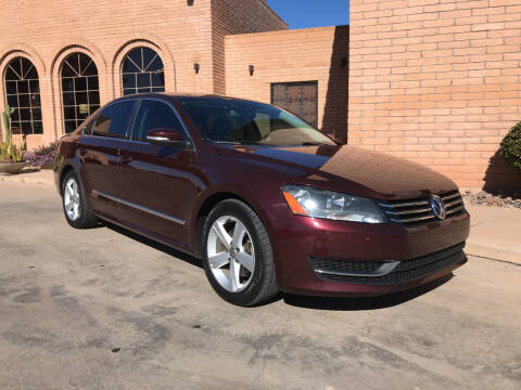 2013 Volkswagen Passat for sale at Freedom  Automotive in Sierra Vista AZ