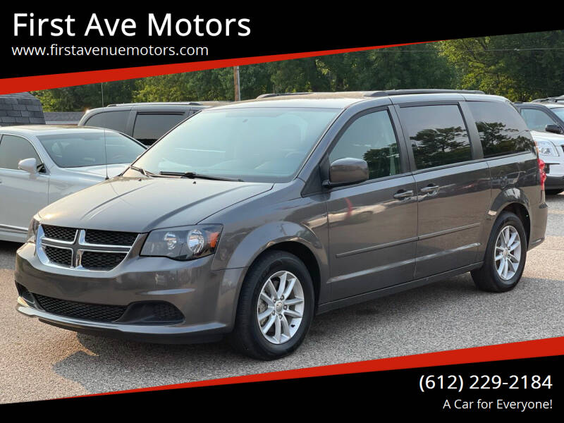 2016 Dodge Grand Caravan for sale at First Ave Motors in Shakopee MN