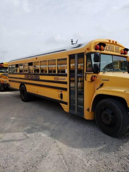 1999 GMC Blue Bird for sale at Interstate Bus Sales Inc. in Wallisville TX