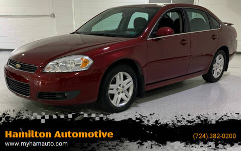 2011 Chevrolet Impala for sale at Hamilton Automotive in North Huntingdon PA