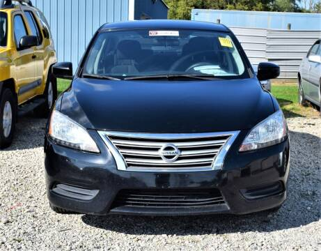 2014 Nissan Sentra for sale at PINNACLE ROAD AUTOMOTIVE LLC in Moraine OH