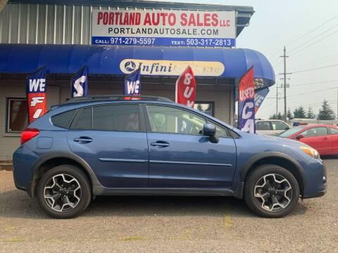 2013 Subaru XV Crosstrek for sale at PORTLAND AUTO SALES LLC. in Portland OR