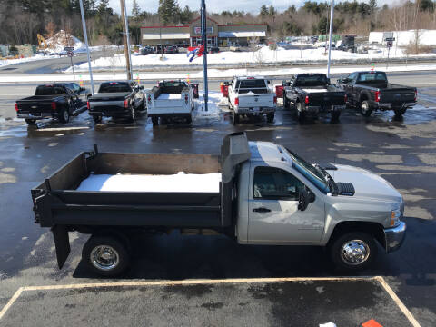 2009 Chevrolet Silverado 3500HD CC for sale at Diesel World Truck Sales in Plaistow NH