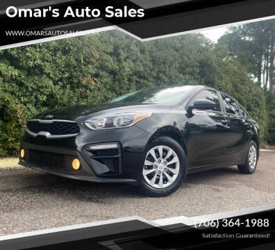 2019 Kia Forte for sale at Omar's Auto Sales in Martinez GA