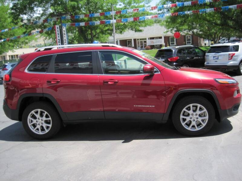 2016 Jeep Cherokee 4x4 Latitude 4dr SUV - Bountiful UT