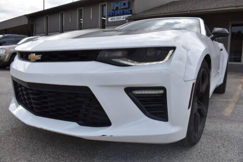 2017 Chevrolet Camaro for sale at IMD Motors in Richardson TX