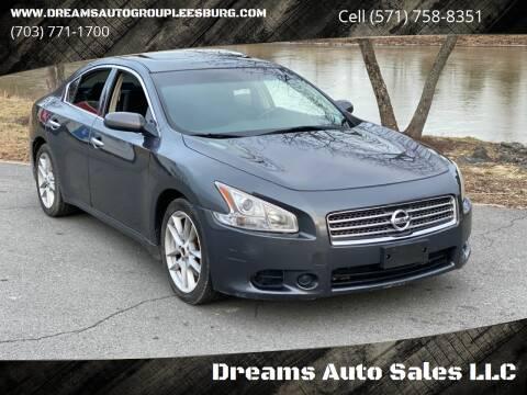 2011 Nissan Maxima for sale at Dreams Auto Sales LLC in Leesburg VA