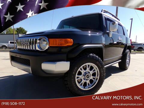 2007 Toyota FJ Cruiser for sale at Calvary Motors, Inc. in Bixby OK