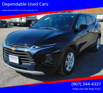 2020 Chevrolet Blazer for sale at Dependable Used Cars in Anchorage AK