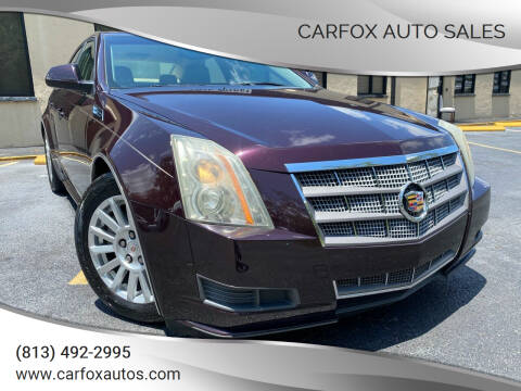 2010 Cadillac CTS for sale at Carfox Auto Sales in Tampa FL