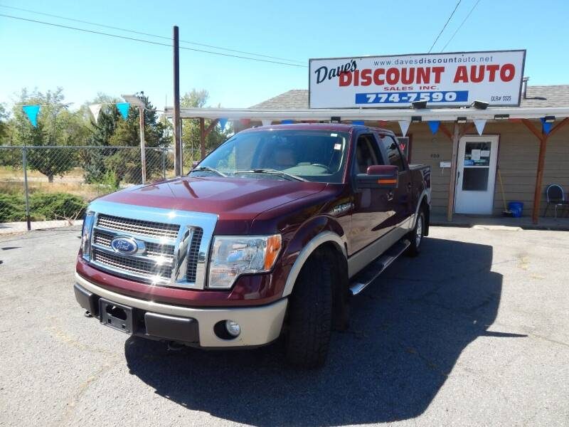 2010 Ford F-150 for sale at Dave's discount auto sales Inc in Clearfield UT