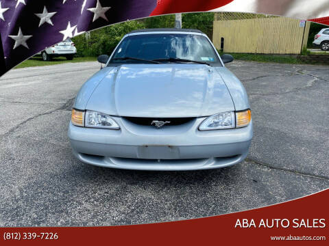 1995 Ford Mustang for sale at ABA Auto Sales in Bloomington IN