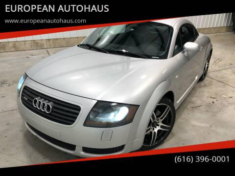 2002 Audi TT for sale at EUROPEAN AUTOHAUS in Holland MI