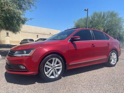 2017 Volkswagen Jetta for sale at Tucson Auto Sales in Tucson AZ