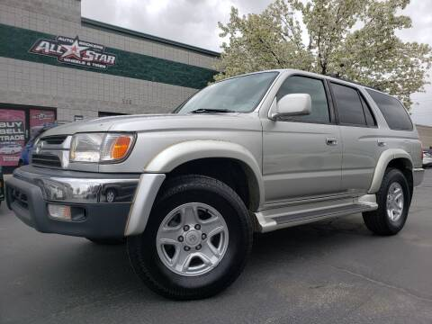 2001 Toyota 4Runner for sale at All-Star Auto Brokers in Layton UT